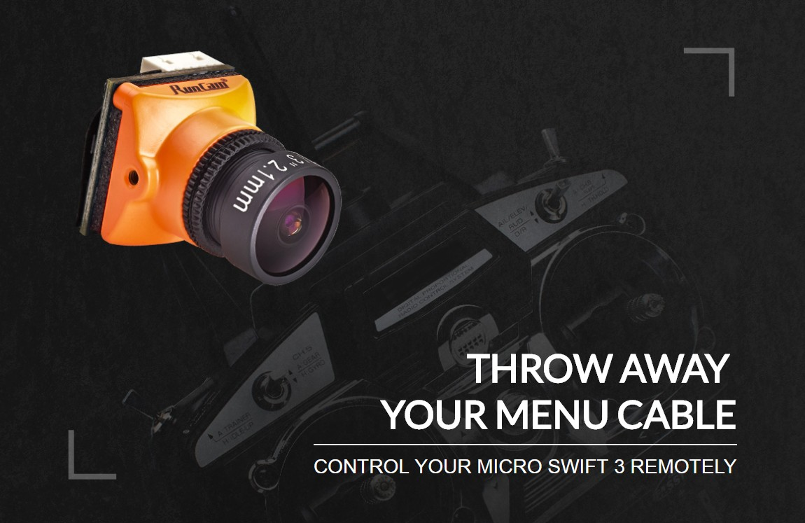 Runcam Micro Swift 3 13 SONY Super HAD II CCD 2.1mm NTSC 43 600TVL CCD Mini FPV Camera 6