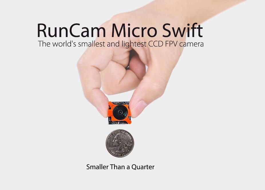 Runcam Swift 1 Micro Camera For FPV Racing Drone 6