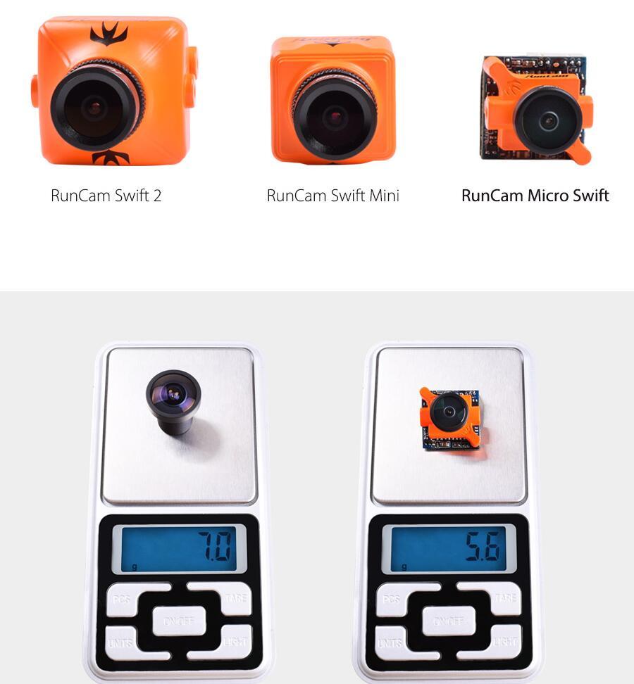 Runcam Swift 1 Micro Camera For FPV Racing Drone 7