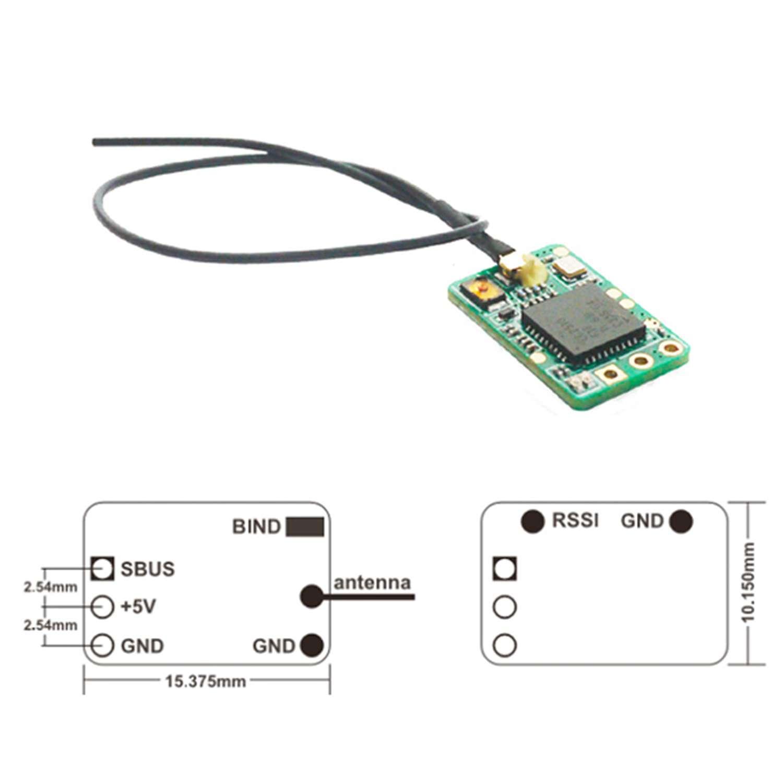 Frsky XM Micro D16 SBUS Mini Receiver